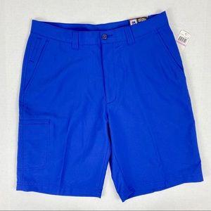 NWT - PGA Tour ProSeries blue golf shorts Sz 32